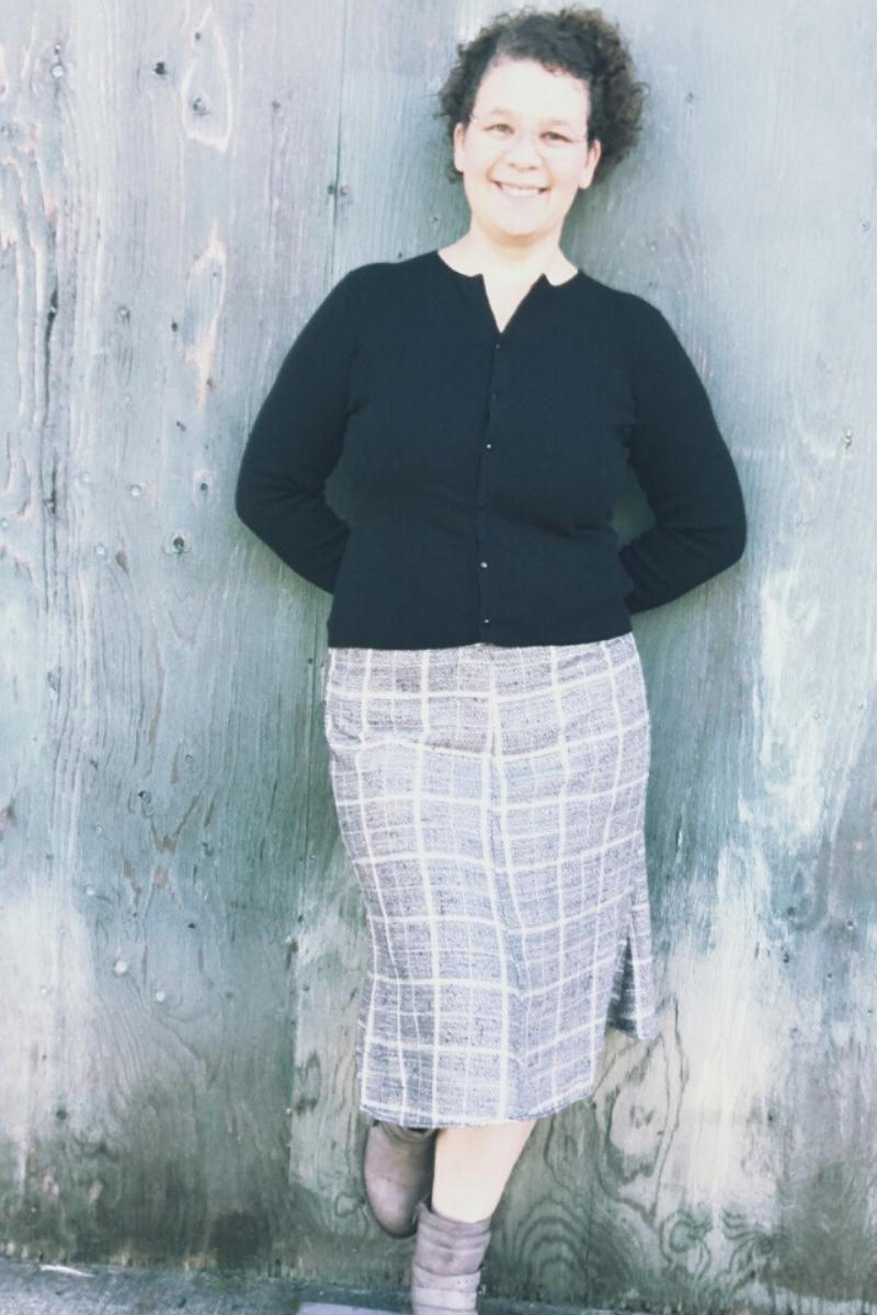Seville Skirt in plaid