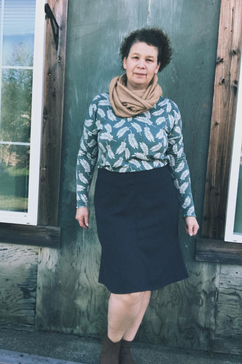 Seville Skirt in grey