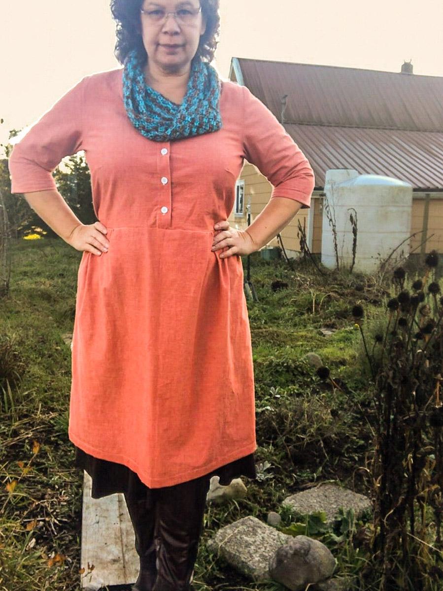 Hinterland dress sewing pattern