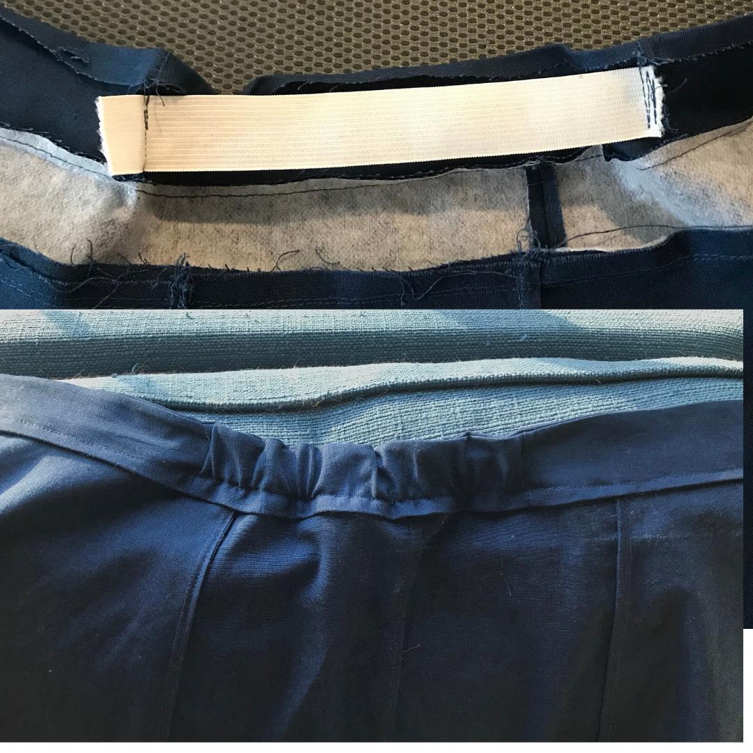 Fumeterre skirt waistband hack
